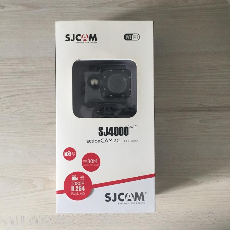 SJCAM SJ4000 Action camera Sports with accessories EXCELLENT CONDITION
