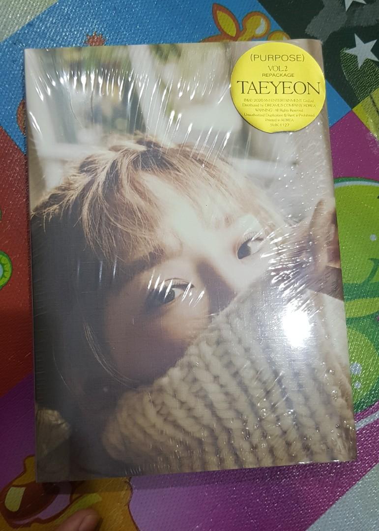 Taeyeon - Purpose Repackage Beige Ver Sealed Album