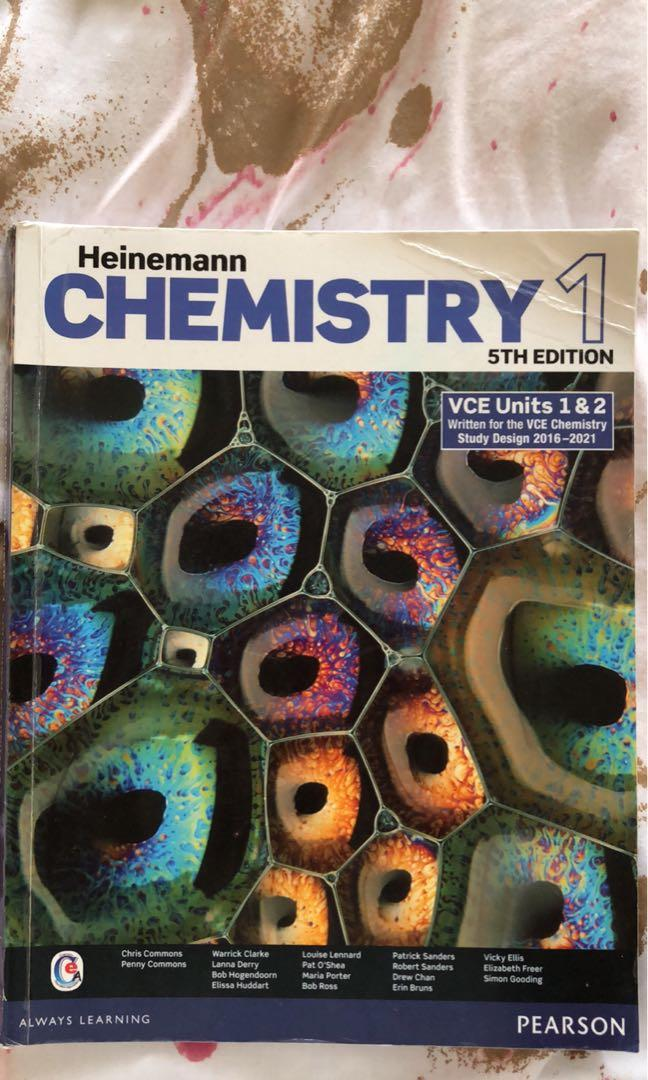Chemistry, physical ed, further and general textbooks