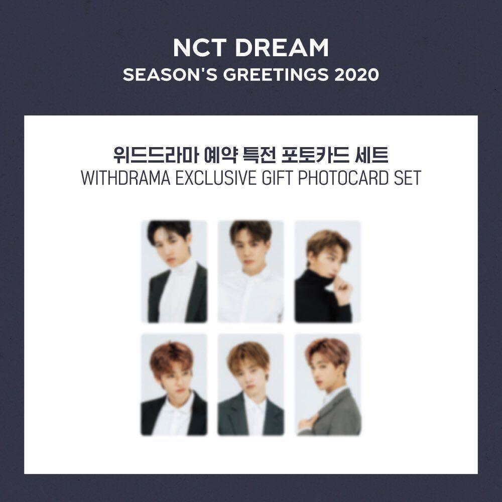 [WTB/LF] NCT DREAM 2020 SEASON GREETING WITHDRAMA AND 11ST POB