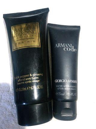 Armani Code / Baylis & Harding Aftershave Balm Bundle