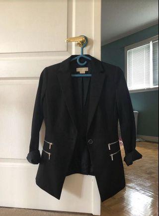 Michael Kors Black Blazer Size 0