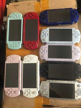 滿遊戲PSP3000及2000薄機及1000機