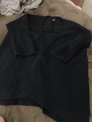 長板針織外套