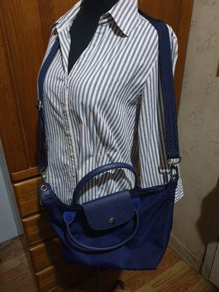 Royal Blue Sling Bag