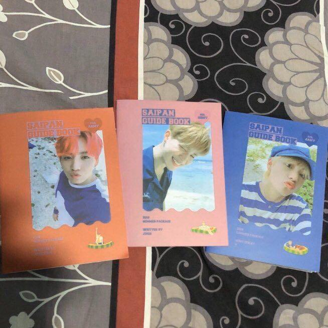 [3 FOR RM30] BTS UNOFFICIAL SAIPAN 2018 GUIDEBOOK MAKNAE LINE