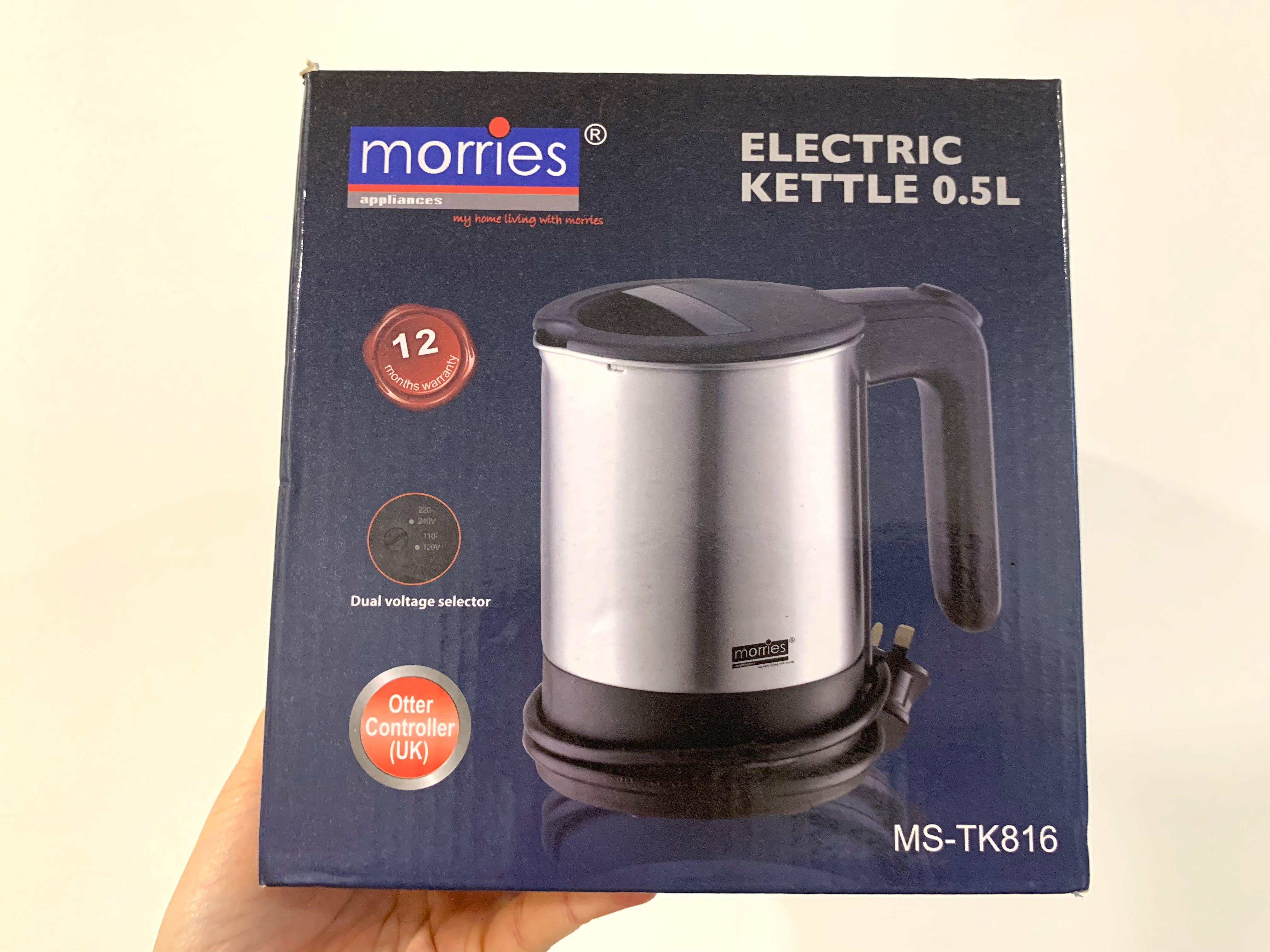 [BNIB] Morries 0.5L Tabletop Electric Kettle!
