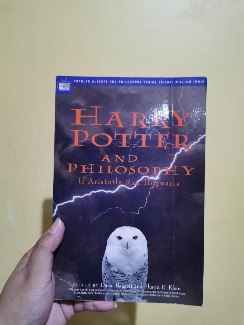 Book: Harry Potter and the Philosophy if Aristotle ran Hogwarts