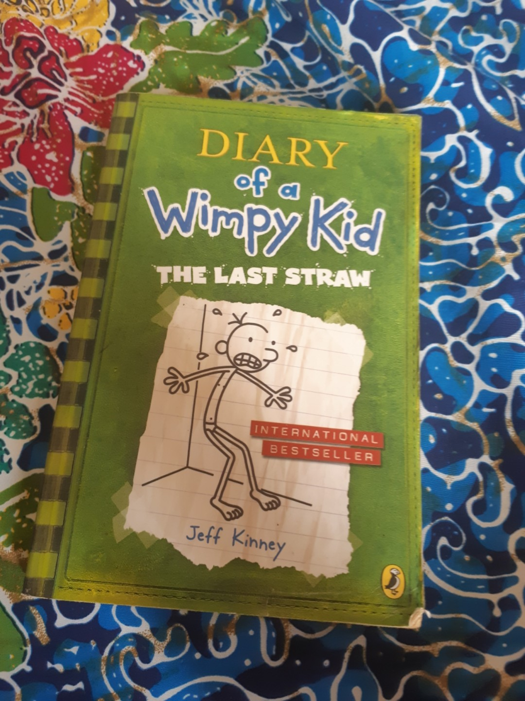 Diary Of A Wimpy Kid The Last Straw Books Stationery Books On Carousell