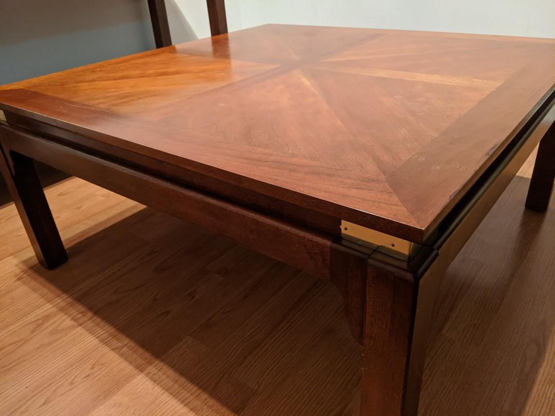 Hardwood Console Table and Coffee Table ($225 for each)