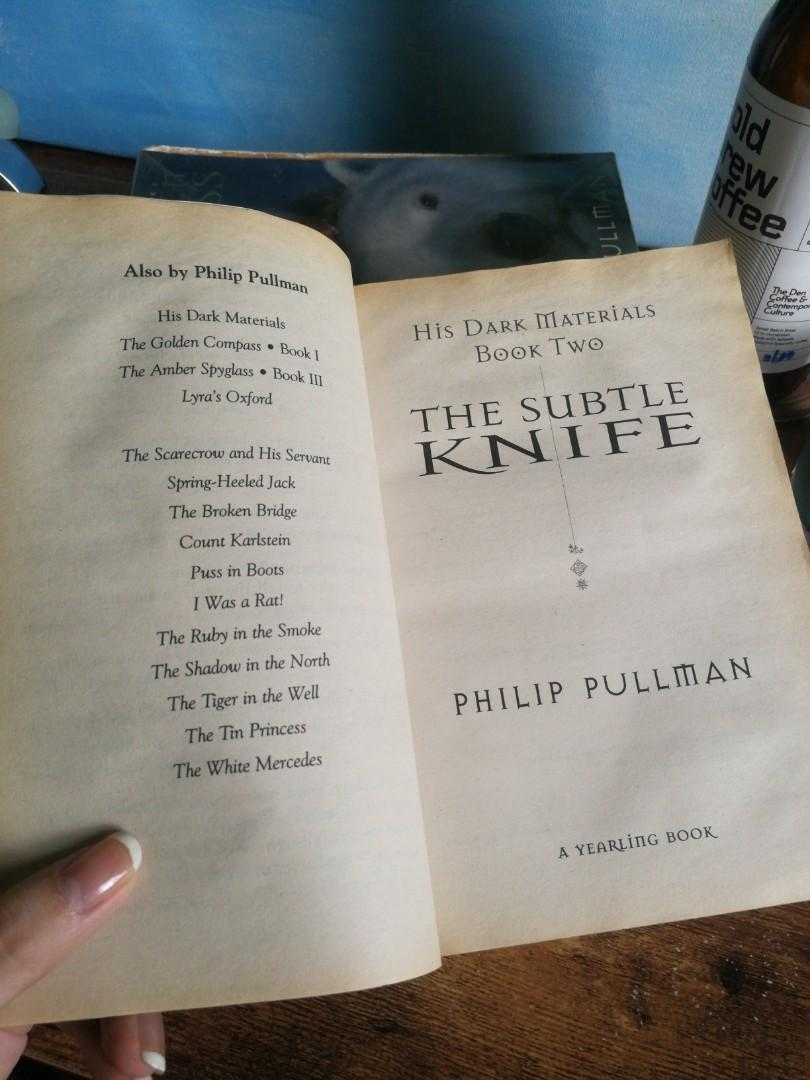 His Dark Materials TRILOGY - The Golden Compass; The Subtle Knife; The Amber Spyglass by Philip Pullman