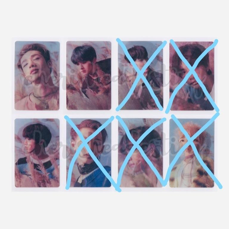 [LFS/WTB] Stray Kids's Lenticular Photocard *ONLY MISSING HAN*