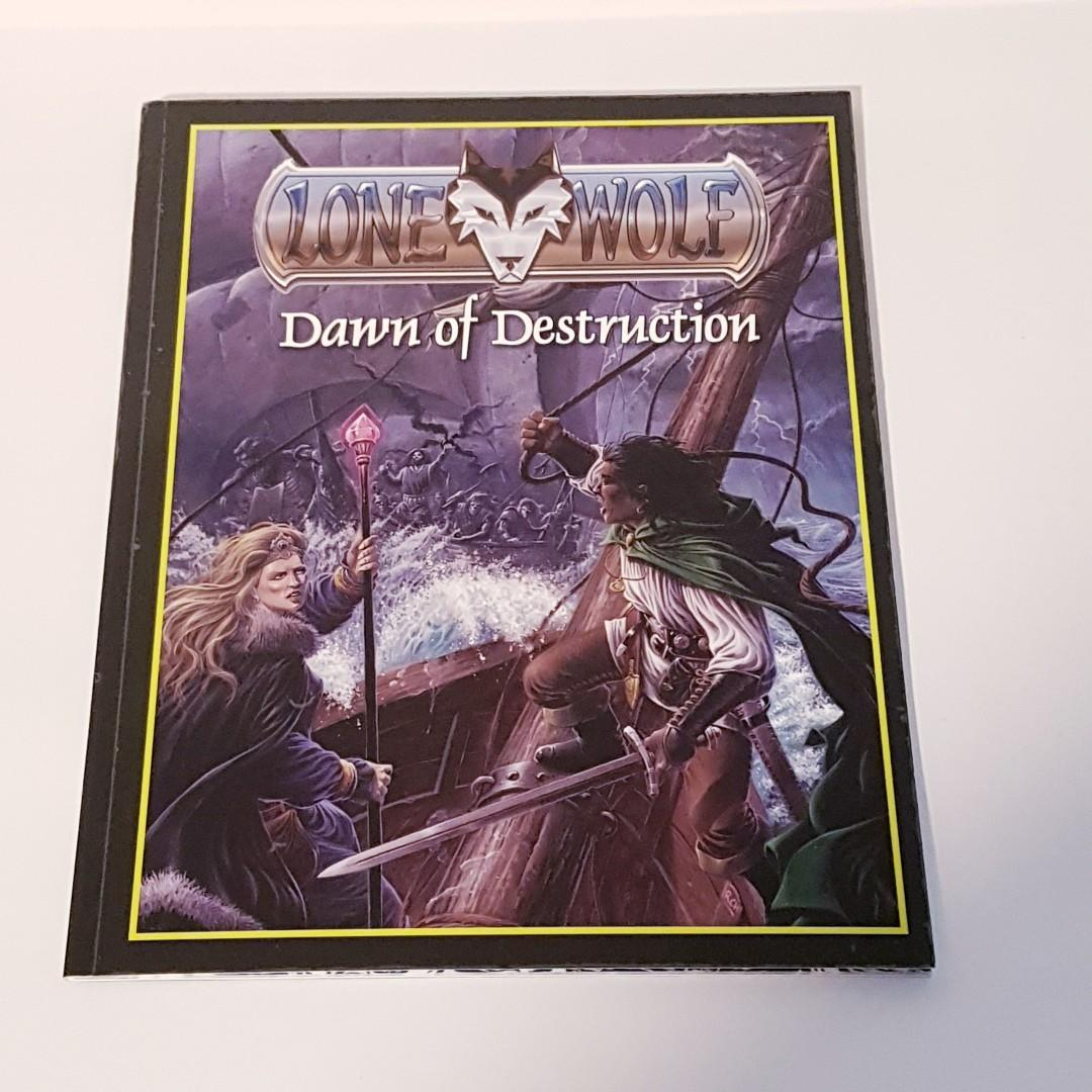 Lonewolf Dawn of Destruction RPG Role Playing Game Guide