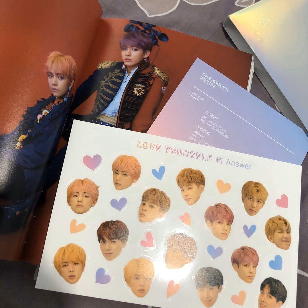 [REDUCED] BTS LOVE YOURSELF ANSWER S VER ALBUM NO PC