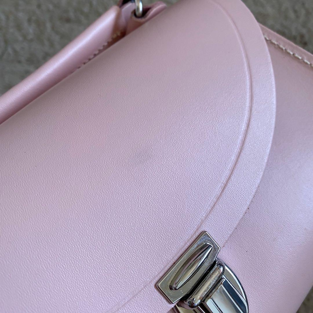 The Cambridge Satchel Company Poppy Cross Body Bag in Dusty Pink