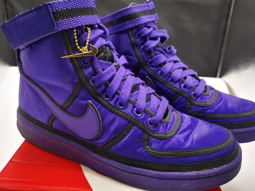 nike vandal high supreme purple