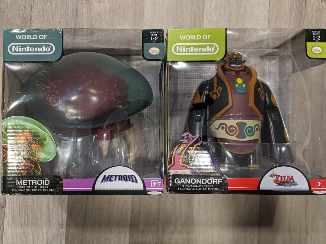 "World of Nintendo 6"" figures. Ganondorf and Metroid"
