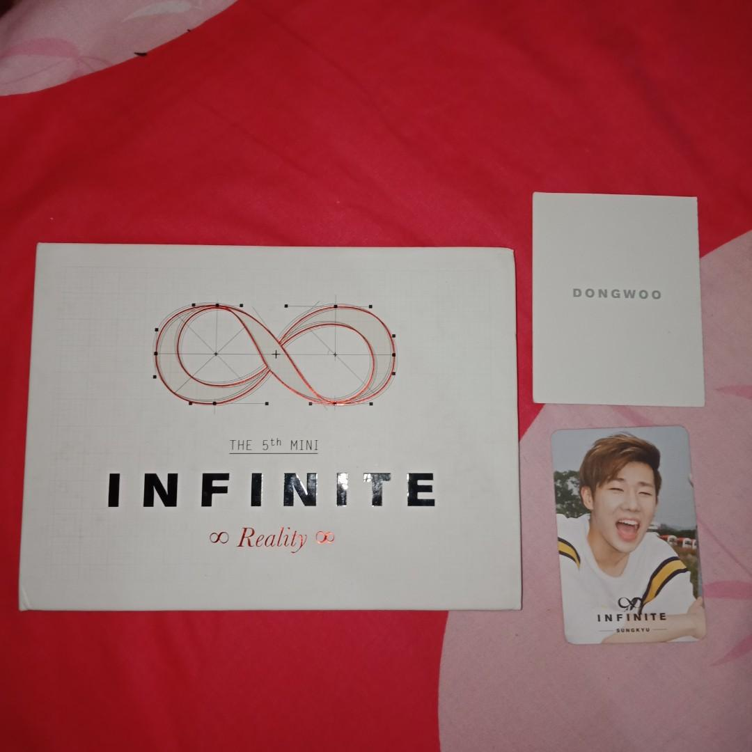 [WTS] INFINITE 5th Mini Album with Sunggyu Photocard Dongwoo Card