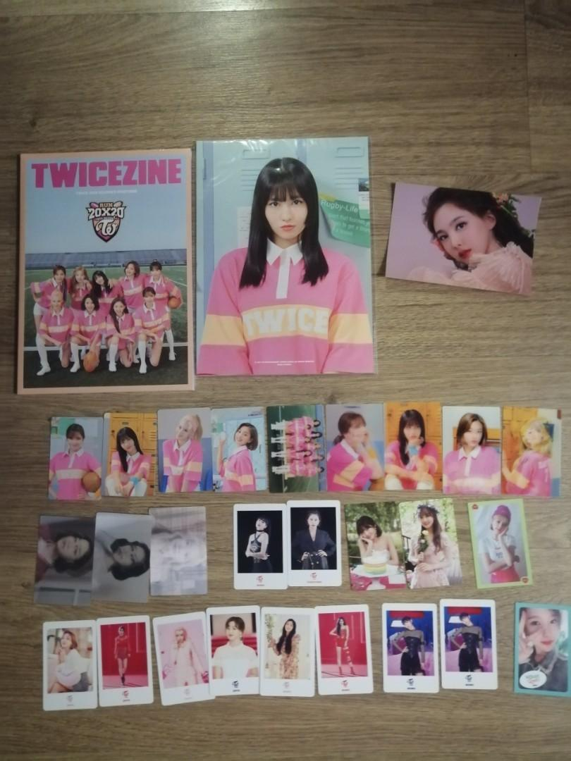 WTS TWICE PHOTOCARD PHOTOBOOK SEASONS GREETING 2020 POSTER CALENDAR