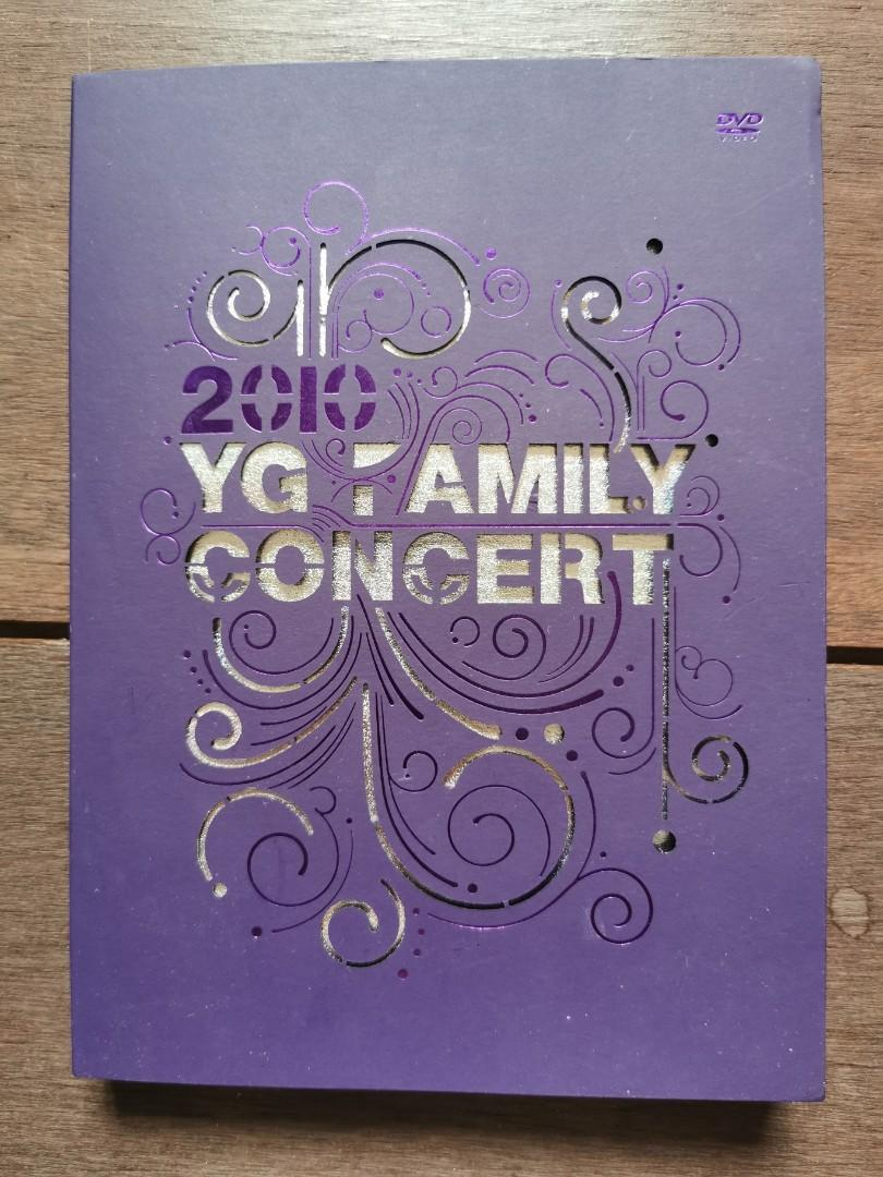 YG family concert DVD(2NE1, Big Bang, GUMMY, SE7EN, PSY)