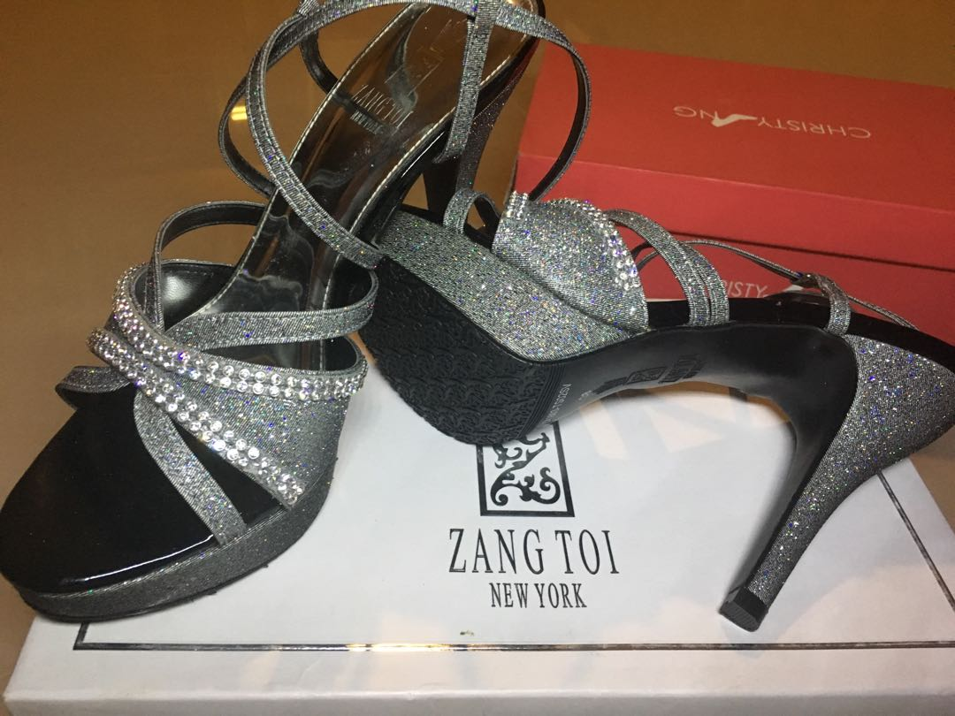 Zang Toi NEW Size 38 Heels for dinner, wedding, engagement, party, formal
