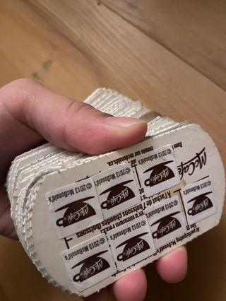 McCafe cards