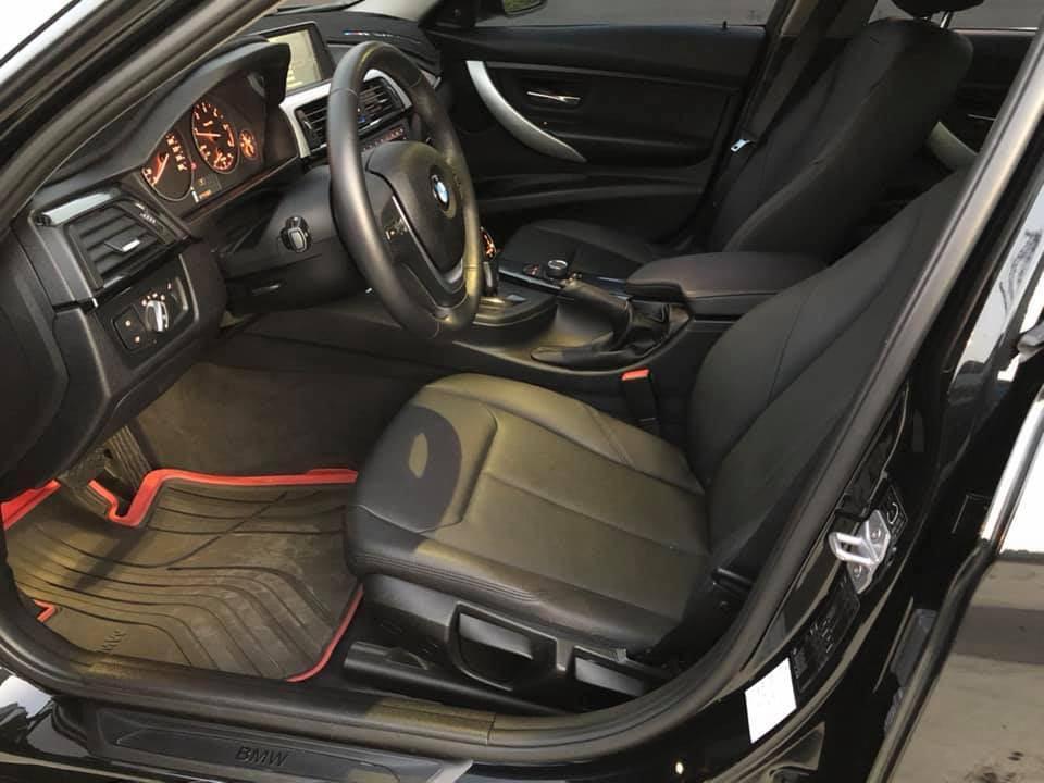 2013 BMW F30 318d 黑色素  總代理