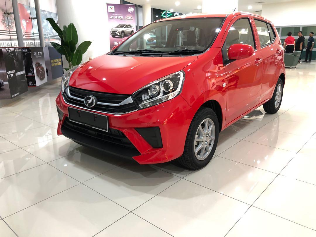 2020 Perodua Axia 1.0 GXtra (A) Lava Red Maximum Loan