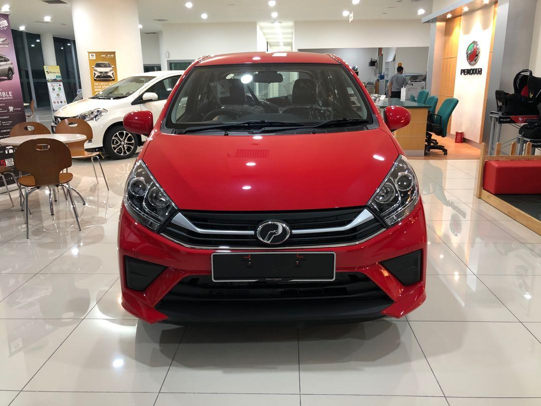 2020 Perodua Axia 1.0 GXtra (A) Lava Red Maximum Loan