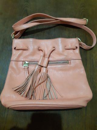 Repriced! Fossil drawstrings sling bag