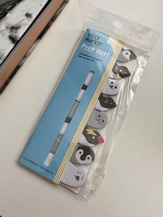 Penguin sticker markers