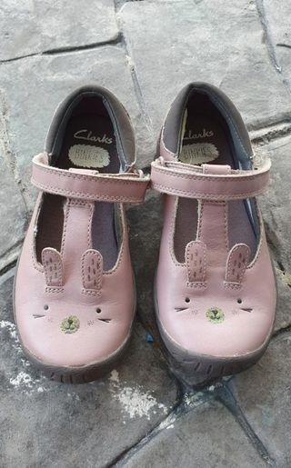 Authentic Clarks Girl Shoes.