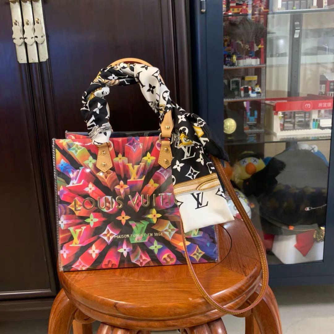 全新 Louis Vuitton dior Chanel Gucci 紙袋改造 手提斜背包