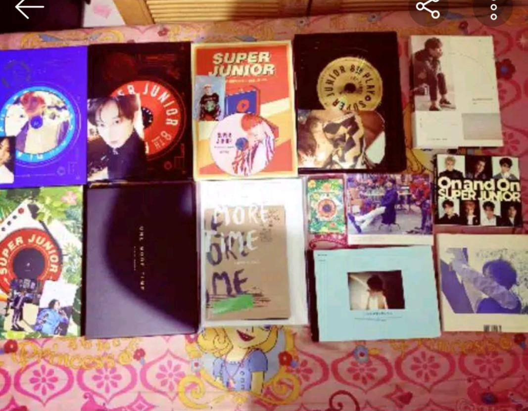 ALBUM SUPER JUNIOR + PC dan  GRATIS POSTER (UNSEALED)
