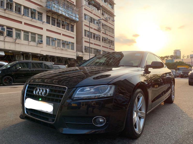 Audi A5 Coupe 2.0 TFSI quattro S tronic Sport (A)