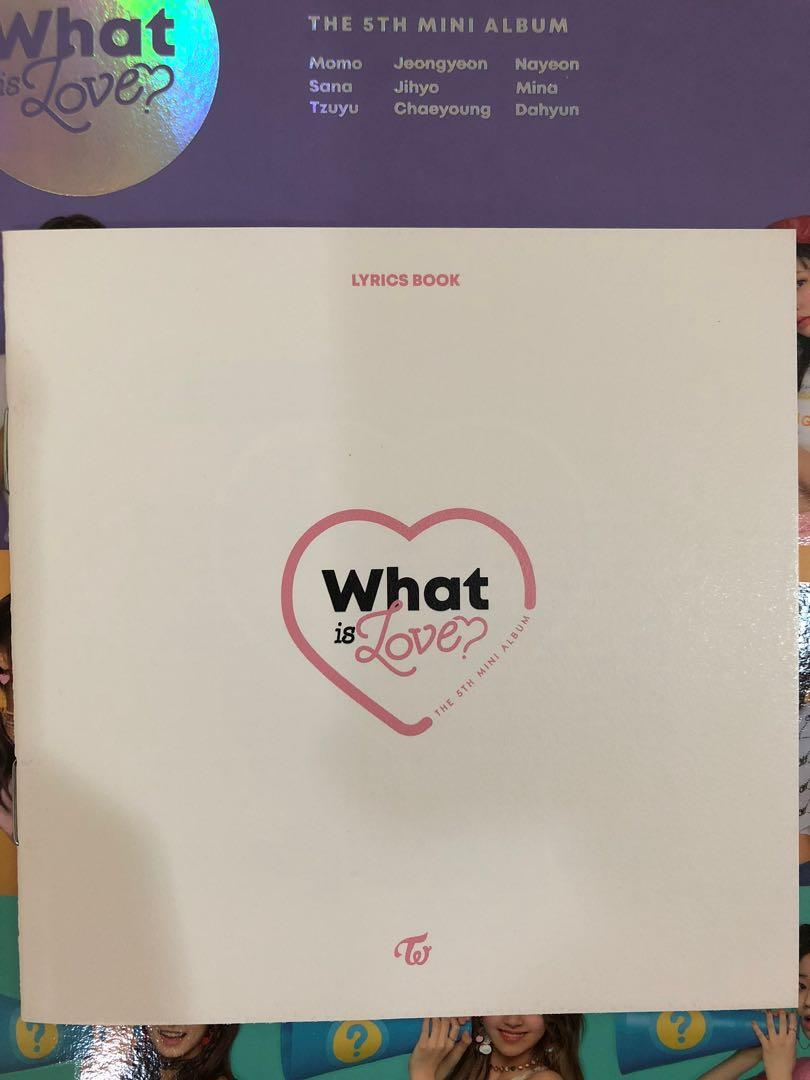 [CLEARANCE] WHAT IS LOVE? and THE YEAR OF YES ALBUMS