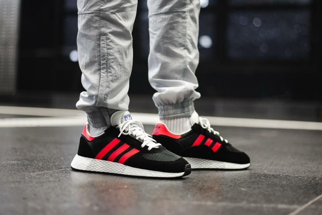 FINAL!) Adidas Marathon Tech Red Black