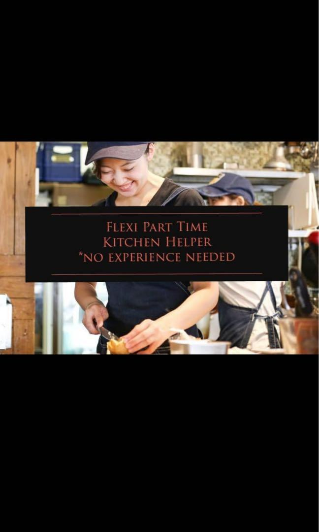 FLEXI PART TIME  F&B CREW (no experience needed)