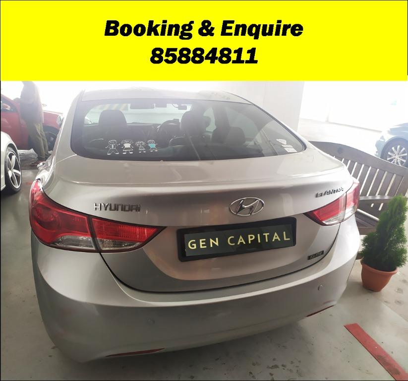 Hyundai Elantra Superb Condition JUST IN! Special Promo whatsapp 84793898 now to reserve a car!