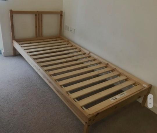 Katil Bujang Ikea Single Bed Frame