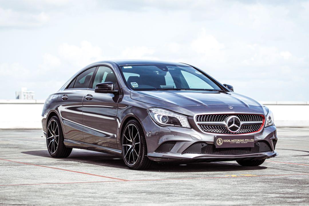 Mercedes-Benz CLA180 Coupe (A)