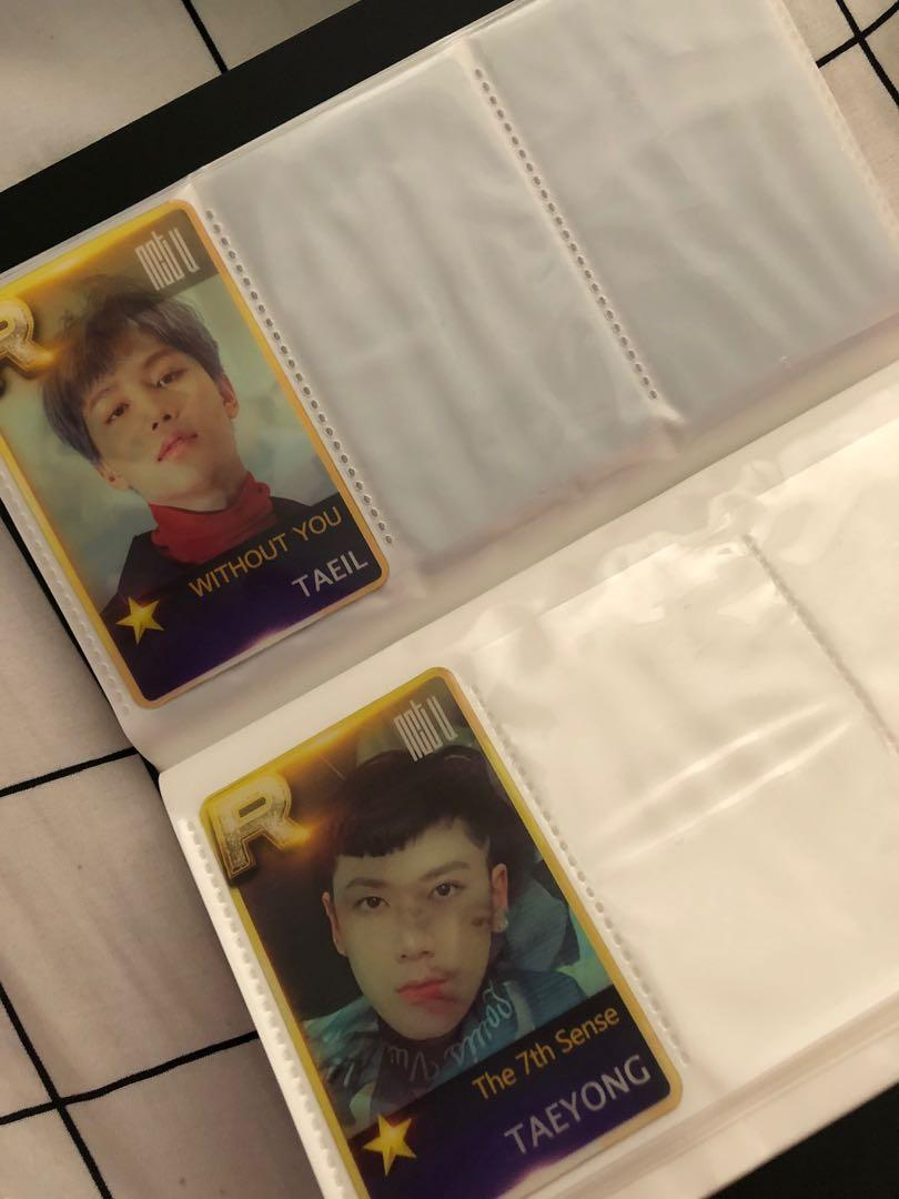 NCT TAEYONG OFFICIAL PHOTOCARDS AND NCT UNOFFICIAL PHOTOCARDS