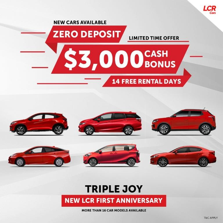 New Lion City Rentals First Anniversary Promotion