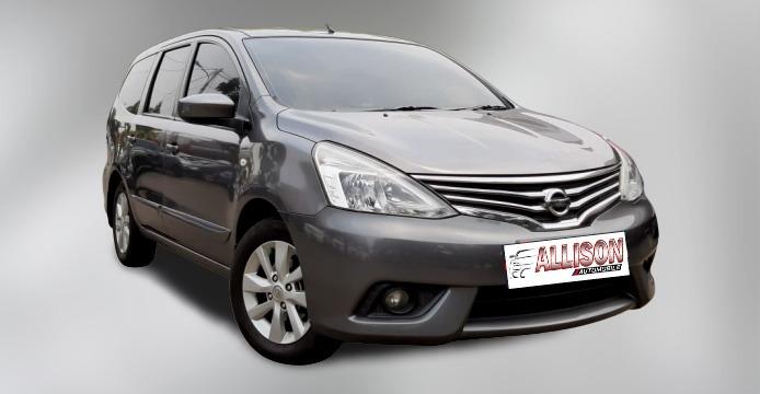Nissan New Grand Livina 1.5 XV AT 2013 Abu Abu Dp 15,9 Jt No Pol Ganjil #Mobil Bekas Bergaransi#