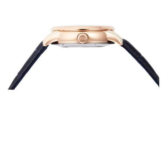 ORIENT: Limited Edition 'Sun & Moon' Limited Edition Open Heart Midnight Blue Rose Gold RA-AS0006L