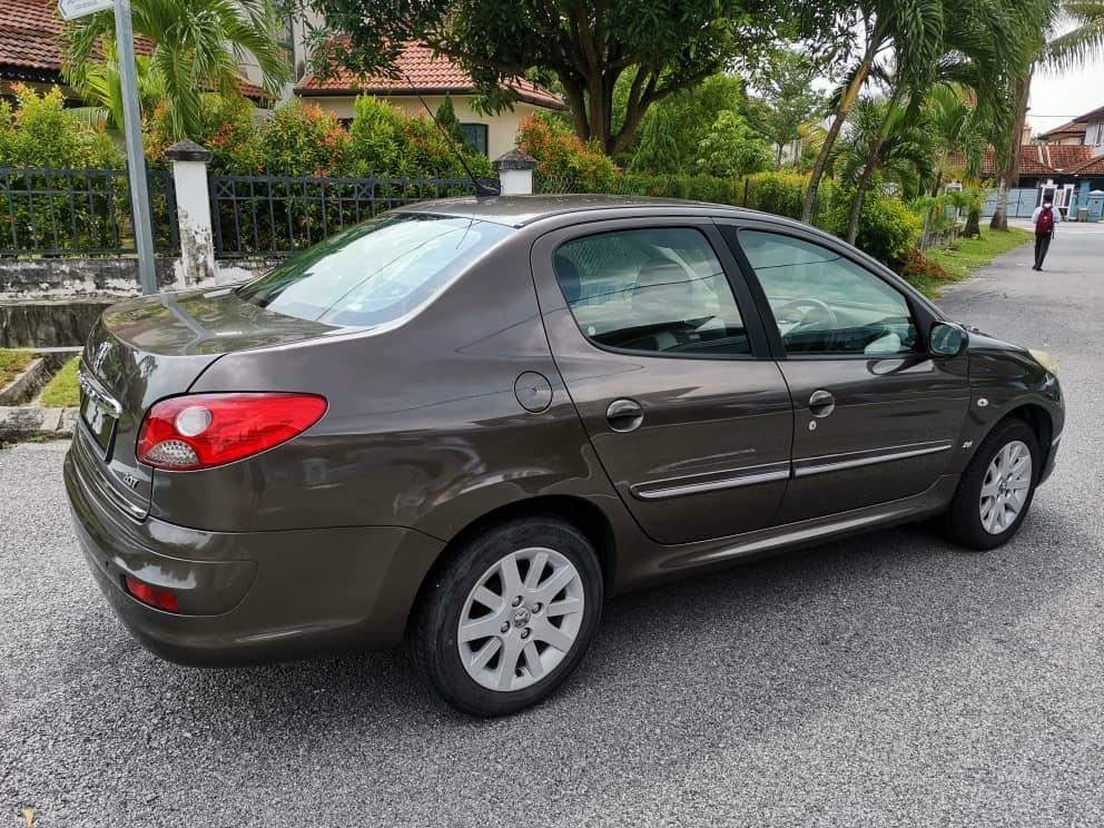 Peugeot 207 1.6 (A) for Sale (With double digit plate number)