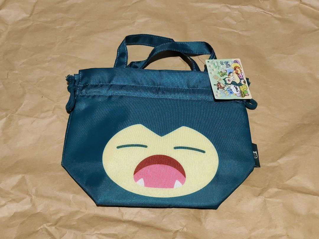 Pokemon Center Yawning Snorlax Lunch Pouch, Women's Fashion, Bags &  Wallets, Others on Carousell