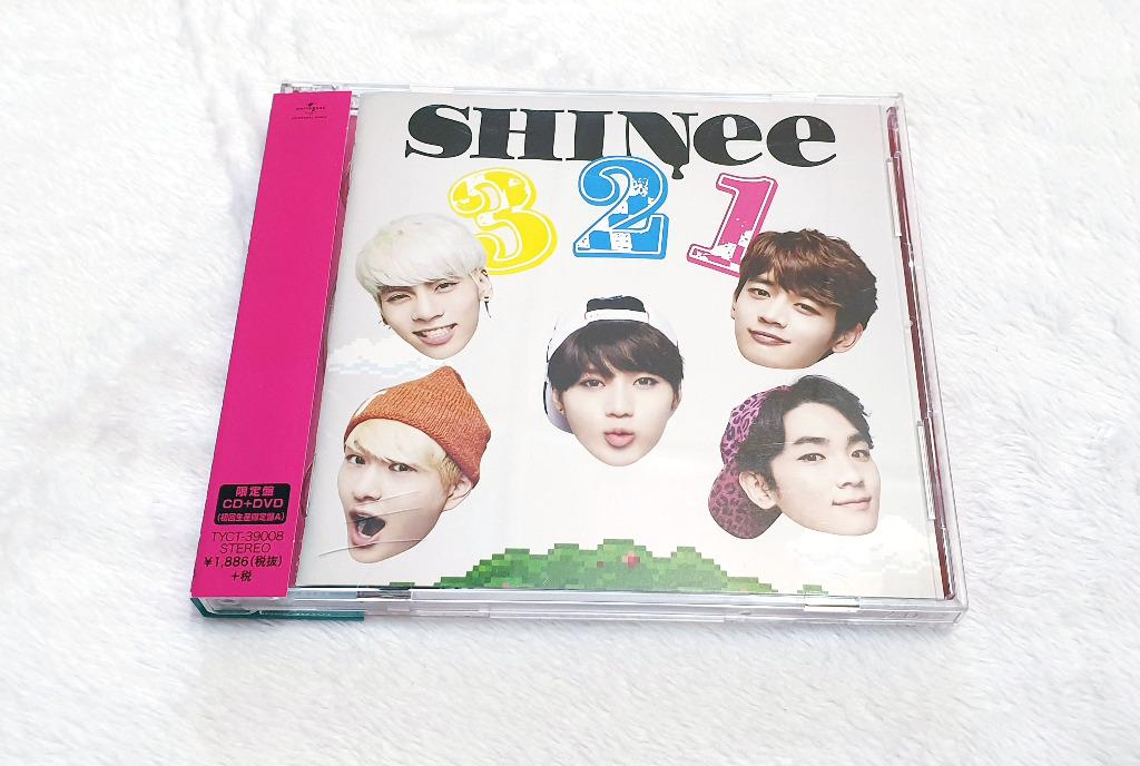 [Preloved] SHINee - 3 2 1 [Limited Edition/Type A] Japanese single