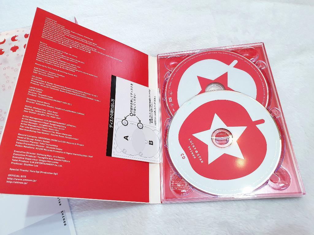 [Preloved] SHINee - Lucky Star [w/ DVD, Limited Edition] Japanese single