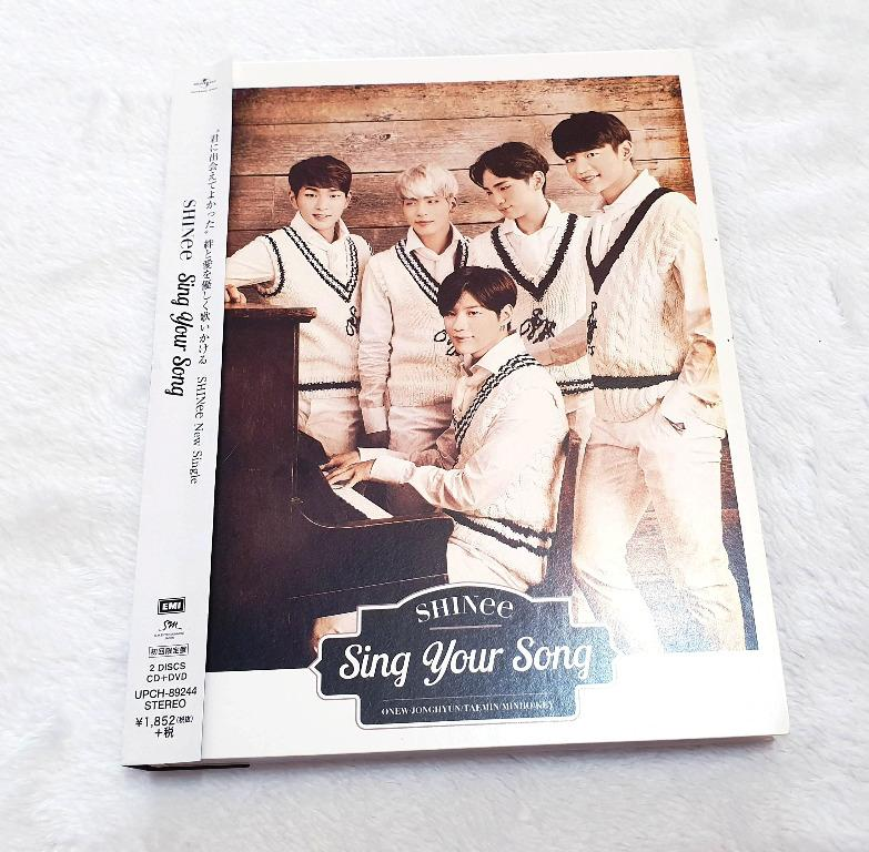 [Preloved] SHINee - Sing Your Song [First Press Limited Edition] (CD+DVD)